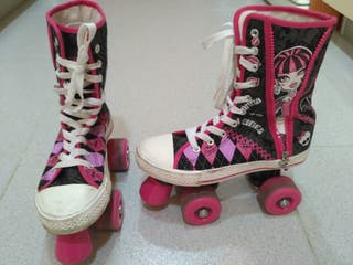 Patines infantiles Monster hight (+ casco)