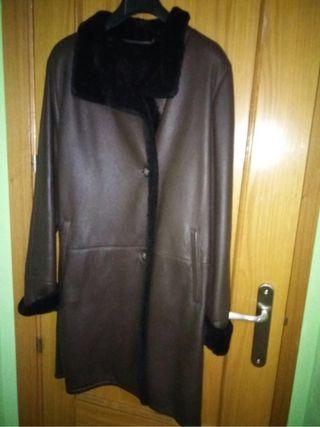 Abrigo de piel talla 46