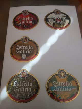 Etiquetas Estrella Galicia