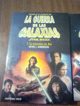 libros de la gerra delas galaxias