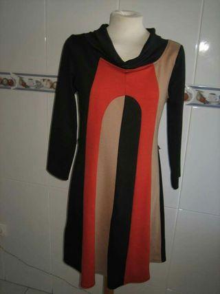 Vestido manga larga talla 40