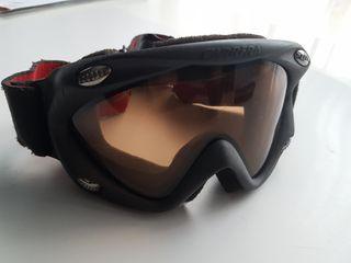 Gafas nieve carrera