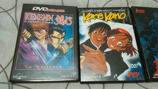 lote películas dvd anime ovas varios lote otaku