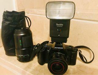 Camara reflex analógica Olympus OM101