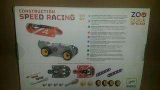 Lote 2 juguetes construcción Djeco