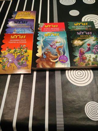 Libros Bat Pat