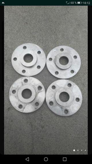 Separadores 1 cm ancho con tornillos 5x112