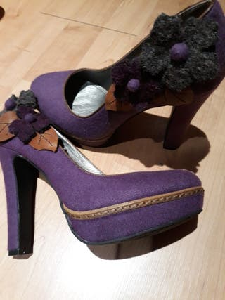 Zapatos mujer Café Noir