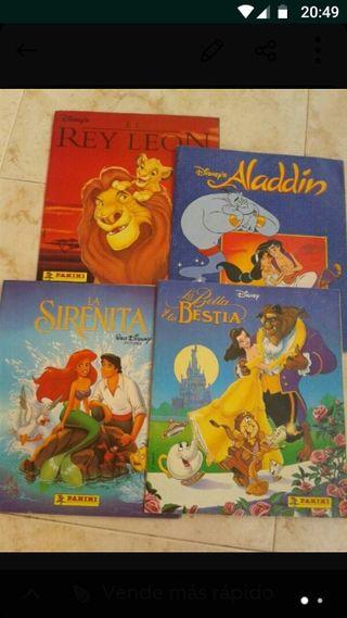 Álbum de cromos Disney