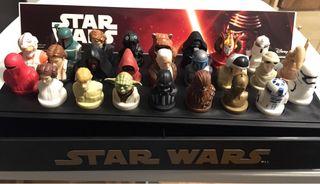 Coleccion Star Wars 25 figuras