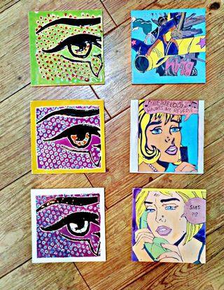 Azulejos Roy Lichtenstein