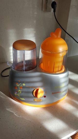 Cocina vapor comida para bebes