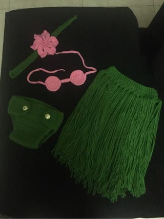 Disfraz bebe lana