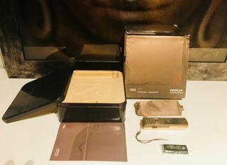 Teléfono Nokia 7380 y accesorios originales