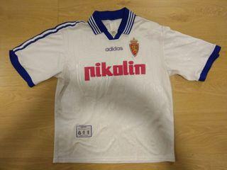 Camiseta Real Zaragoza C.D. 97/98
