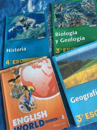 Libros 3-4 Eso