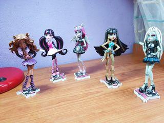 Muñecas monster high colección.