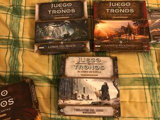 Coleccion Juego de Tronos LCG 2.0 como nueva