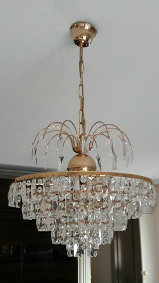 Lámpara cristales
