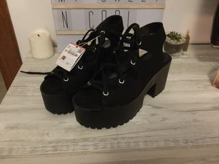 Zapatos MUJER pull & bear NUEVOS