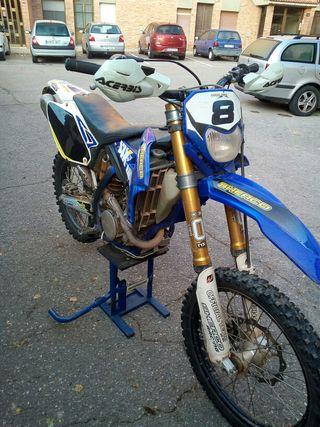 Moto enduro sherco 300 4T ohlins