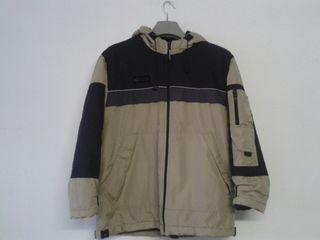 Abrigo marron talla M-L (176cm)