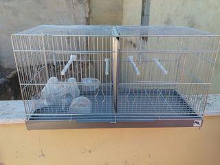 1 jaula de cria