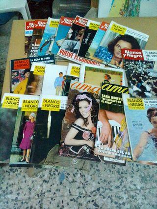 revistas blanco y negro y ama antiguedad
