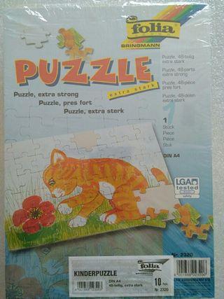 10 Puzzles en blanco 48 piezas