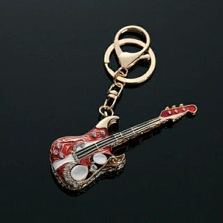 Llavero guitarra.