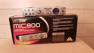 amplificador microfono