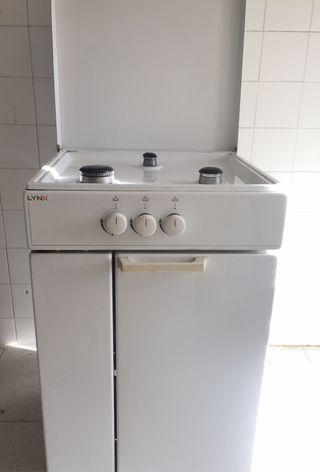 Cocina gas butano lynx de segunda mano por 86 en oca a en wallapop - Cocina butano segunda mano ...