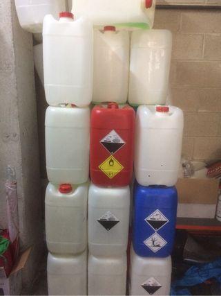 Bidones de 25 litros