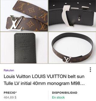 Cinturon Louis Vuitton segunda mano  España