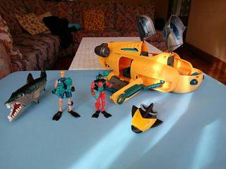juguete submarino
