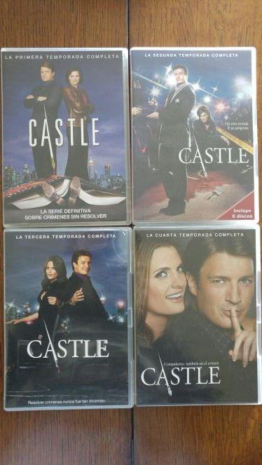 Castle Temporadas 1, 2, 3 y 4 en Dvd como nuevas de segunda mano por ...