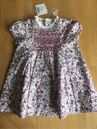 Vestido bebé Gocco 12-18m