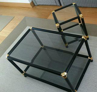 Mesa baja sala + mesa auxiliar (juego) REBAJADO