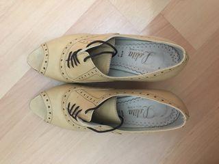 Zapato piel estilo ingles