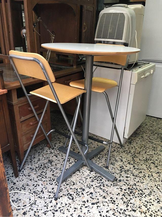 Mesa cocina alta auxiliar ikea de segunda mano por 70 € en A Coruña ...