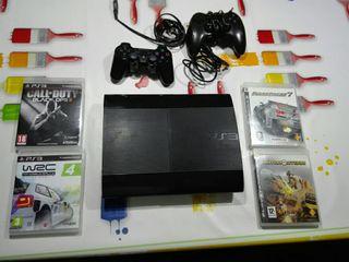 consola ps3 /play station 3 slim 500gb