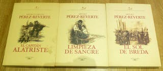 Libros Trilogia Capitán Alatriste