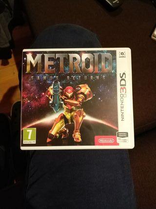 NUEVO Metroid Samus Returns 3DS