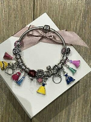Pandora Disney Princess Charm Bracelet