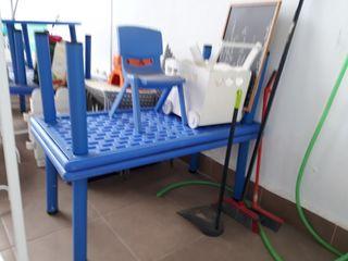 mesas plastico infantiles