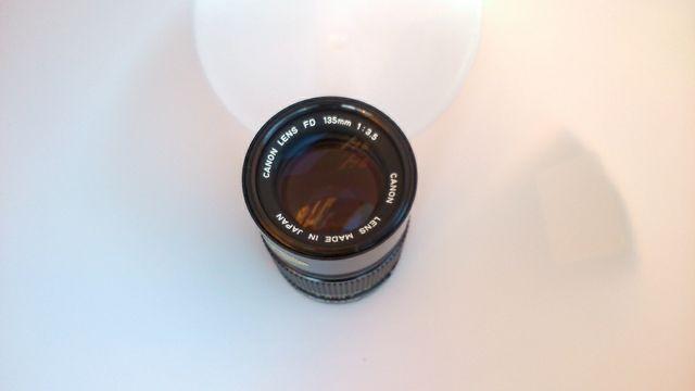 Tele Objetivo Canon FD 135mm