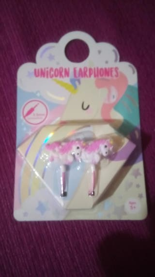 auriculares o cascos unicornios sin estrenar ponis