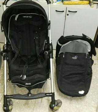 coche ,silla y maxi cosi bebe conjunto de 3 piezas
