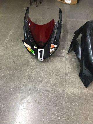 Carenado circuito moto completo