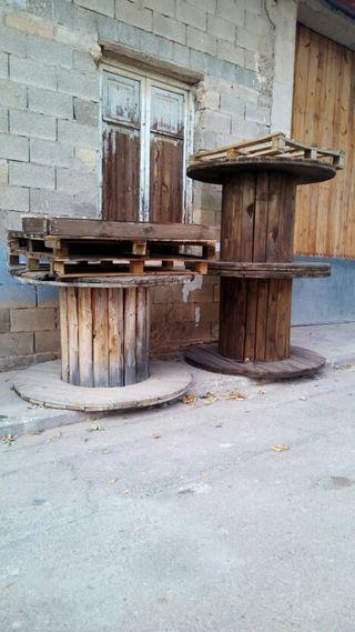 bobina de madera